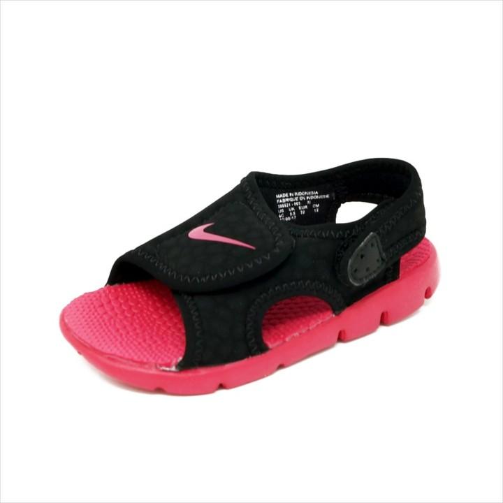 5a95be272d51 Nike-Sunray-Adjust-4-Black-Rush-Pink-Infant-Sz.-3-Youth-Sz.-3 ...
